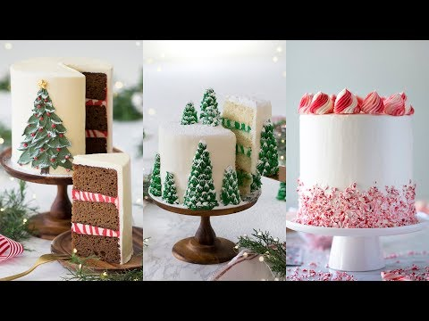 Amazing Christmas Cake Decorating Compilation