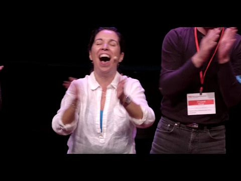 Laughter Yoga | Liliana DeLeo | TEDxMontrealWomen