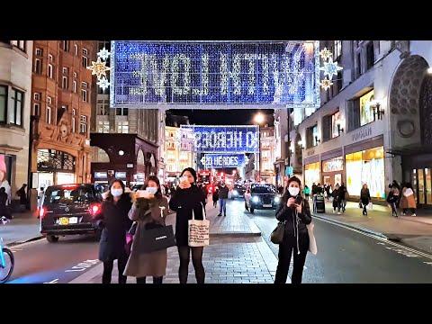 London Christmas Lights 2020 | Walking Oxford Street