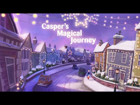 Casper's Magical Journey 🐈✨🎄🐾 | Cats Protection's Christmas animation 2020