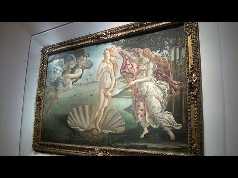 UFFIZI GALLERY: Every Painting Tells A Story!