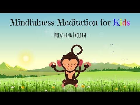 Mindfulness Meditation for Kids | BREATHING EXERCISE | Guided Meditation for Children
