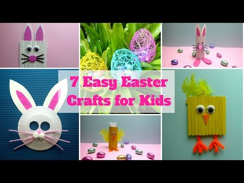 7 Easy Easter Crafts for Kids - Easter Craft Ideas