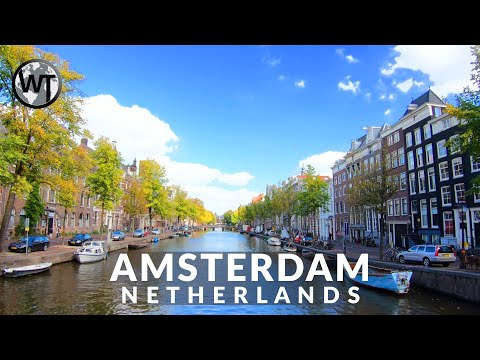 Amsterdam City Centre - 🇳🇱 Netherlands - 4K Walking Tour