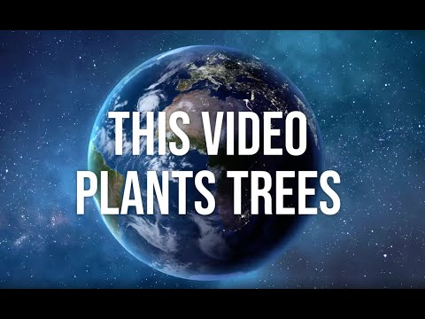 EARTH DAY 2020. This video plants trees.