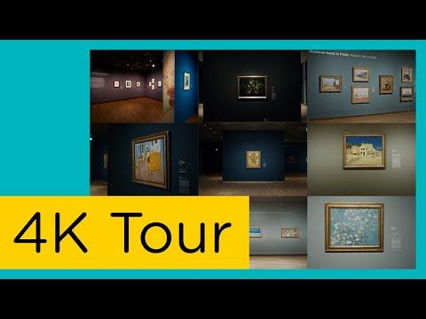 Van Gogh Museum 4K Virtual Tour || Compilation