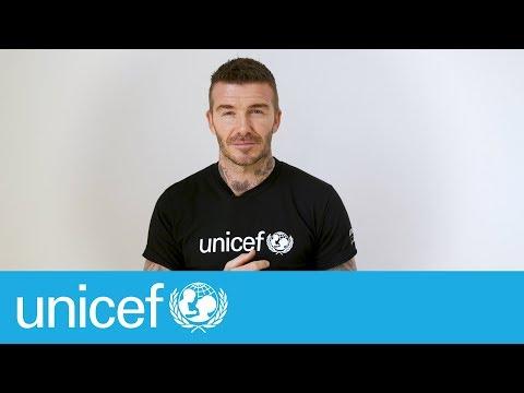 It's about time - David Beckham   UNICEF