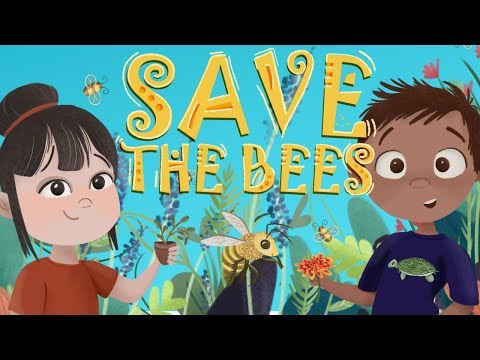 Save the Bees Animated Audiobook Children's Story