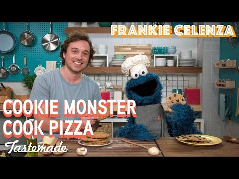 Frankie & Cookie Monster's Homemade Pizza I Frankie Celenza