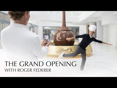 Lindt Home of Chocolate | THE GRAND OPENING with Roger Federer
